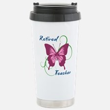 Retired Teacher (Butter Stainless Steel Travel Mug
