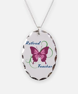 Retired Teacher (Butterfly) Necklace