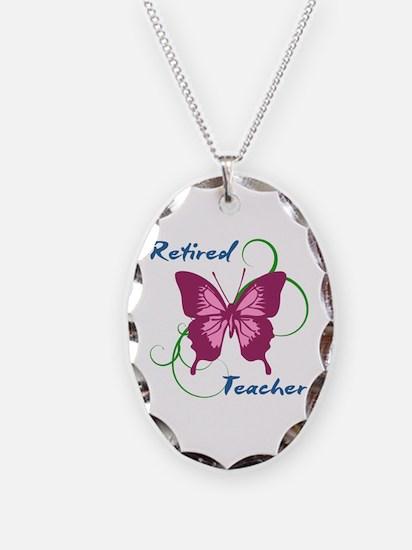 Retired Teacher (Butterfly) Necklace