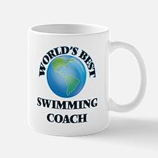 World's Best Swimming Coach Mugs