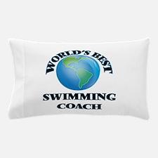 World's Best Swimming Coach Pillow Case