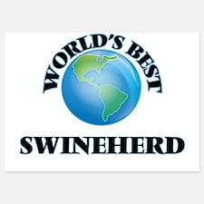 World's Best Swineherd Invitations