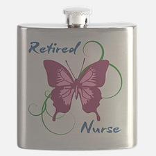 Retired Nurse (Butterfly) Flask