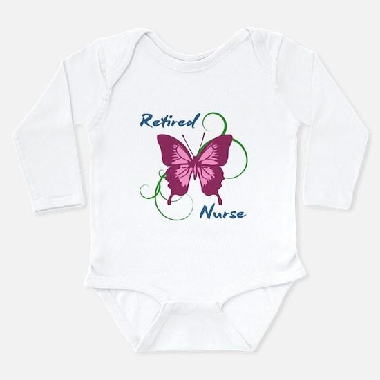Retired Nurse (Butterfly) Body Suit