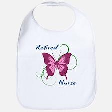 Retired Nurse (Butterfly) Bib