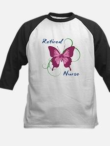 Retired Nurse (Butterfly) Baseball Jersey