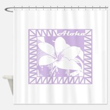 Lanai Plumeria Shower Curtain