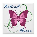 Nurse retirement Drink Coasters