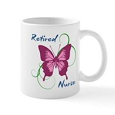 Retired Nurse (Butterfly) Mugs