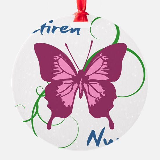 Retired Nurse (Butterfly) Ornament