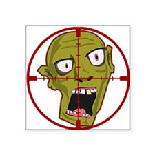 Zombie Head Hunter Sticker