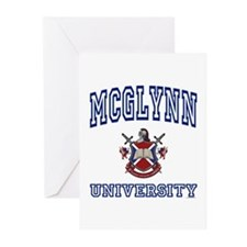 MCGLYNN University Greeting Cards (Pk of 10)