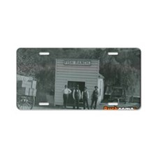 Fish Ranch Aluminum License Plate