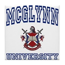 MCGLYNN University Tile Coaster
