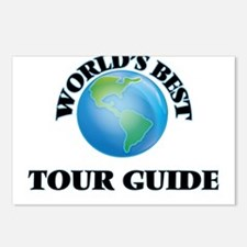 World's Best Tour Guide Postcards (Package of 8)