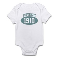 Copyright 1910 Infant Bodysuit