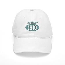 Copyright 1910 Baseball Cap
