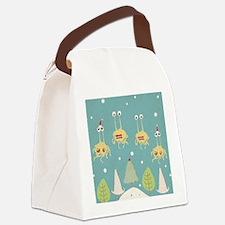 Flying Spaghetti Monster Canvas Lunch Bag