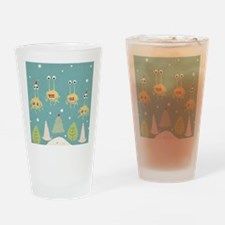Flying Spaghetti Monster Drinking Glass