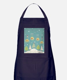 Flying Spaghetti Monster Apron (dark)