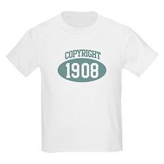 Copyright 1908 T-Shirt