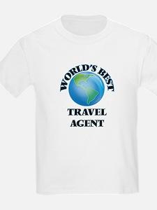 World's Best Travel Agent T-Shirt