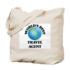 World's Best Travel Agent Tote Bag