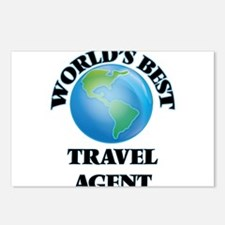 World's Best Travel Agent Postcards (Package of 8)