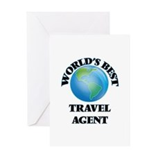 World's Best Travel Agent Greeting Cards