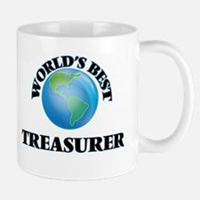 World's Best Treasurer Mugs