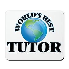 World's Best Tutor Mousepad