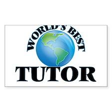 World's Best Tutor Decal