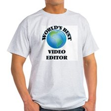 World's Best Video Editor T-Shirt