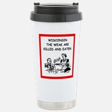 wisconsin Travel Mug
