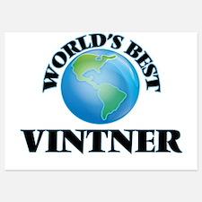 World's Best Vintner Invitations