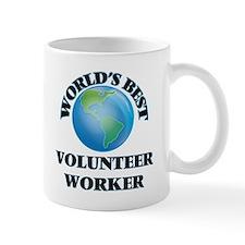 World's Best Volunteer Worker Mugs