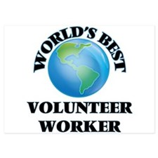 World's Best Volunteer Worker Invitations