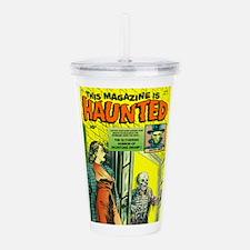Haunted Comic Acrylic Double-wall Tumbler