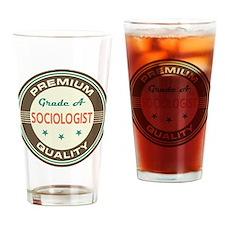 Sociologist Vintage Drinking Glass