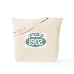 Copyright 1902 Tote Bag