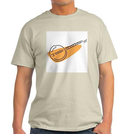 Banjo Ash Grey T-Shirt (Orange)