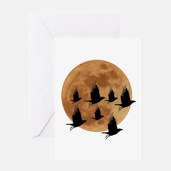 AND BY NIGHT Greeting Cards