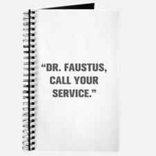 DR FAUSTUS CALL YOUR SERVICE Journal