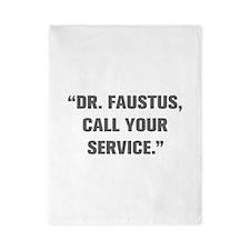DR FAUSTUS CALL YOUR SERVICE Twin Duvet