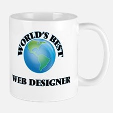 World's Best Web Designer Mugs