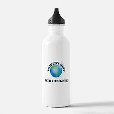 World's Best Web Desig Water Bottle