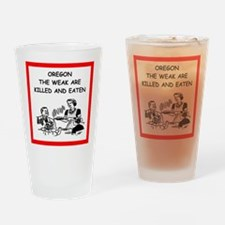 oregon Drinking Glass