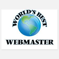 World's Best Webmaster Invitations