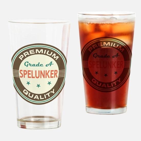 Spelunker Vintage Drinking Glass