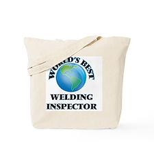 World's Best Welding Inspector Tote Bag